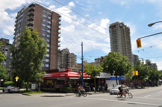 Denman Street, West End Vancouver