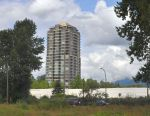 Residential tower near Lougheed Highway and Shaughnessy, Port Coquitlam