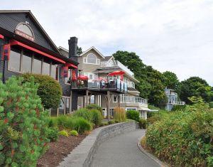 Waterfront walkway, Comox