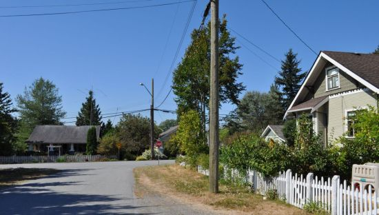 Port Hammond, the most extensive neighbourhood of heritage residences in the District of Maple Ridge