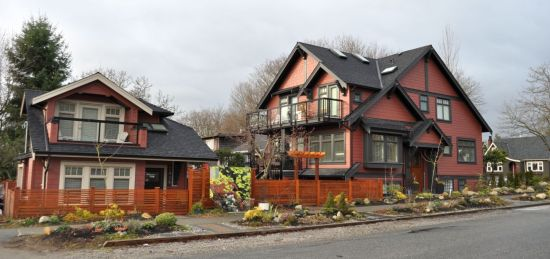 Coach house, Trafalgar Street, Vancouver