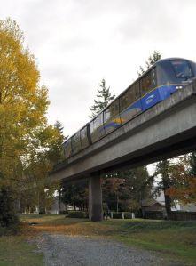 Skytrain, Burnaby