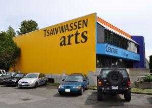 Tsawassen: performance and art studio space installed in a former office building