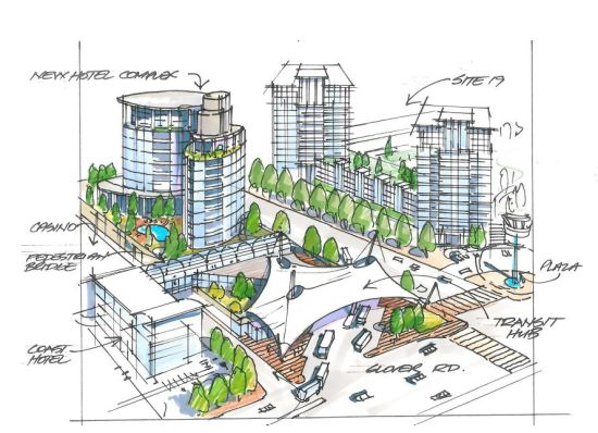 From the downtown plan