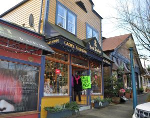 As good as it gets: a vintage shopfront on Clarke Street