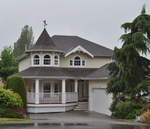 C. 1990 detached home in faux-heritage style, Murrayville