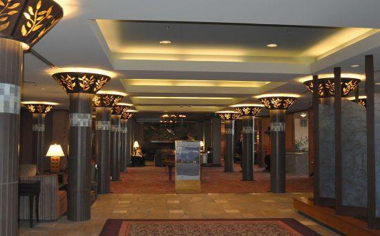 Hot Springs Hotel, interior