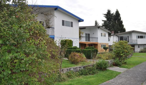 Classic Vancouver-style detached homes, Ross Street