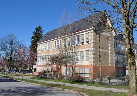 Hastings School, Penticton and Franklin streets