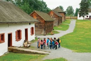 Historic Fort Langley, a national historic site. Photo from Tourism Langley.