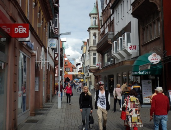 Shopping street, Lahr