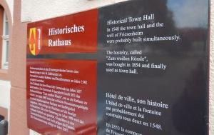 Rathaus history