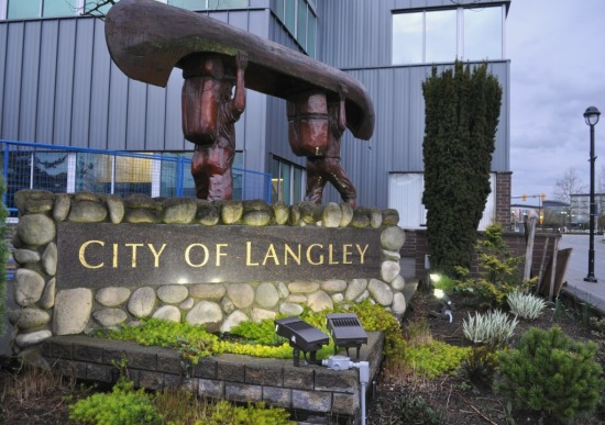 Langley City Hall March 2016