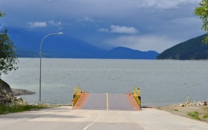 Ferry dock, Galena Bay