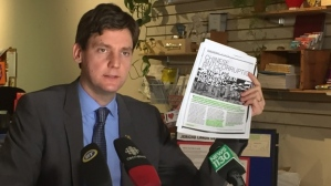 BC New Democrat housing critic David Eby
