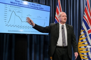 B.C. Finance Minister Mike de Jong (CBC News)