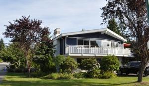 Classic North Shore home design, c. 1960.
