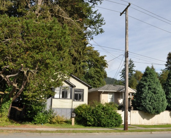 Original homes, Lynn Valley Road