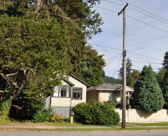 Original homes, Lynn Valley Road