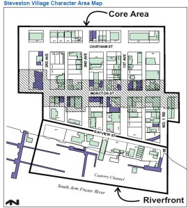 Detail from the municipal area plan, 2009