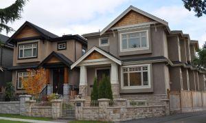 Post-2000 detached houses, Marpole, Vancouver