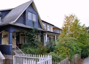 Subdivided house, Grandview-Woodlands, Vancouver
