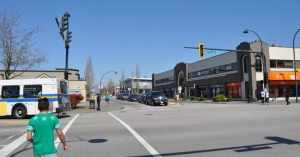 72nd Avenue, Newton Town Centre by the existing transit terminal