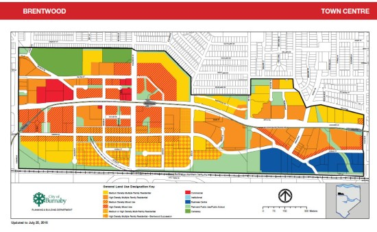 Brentwood 2016 land use plan