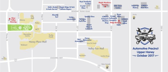 Haney Auto map